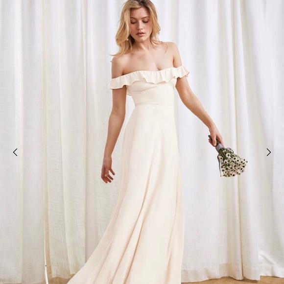 Reformation Dresses & Skirts - Reformation Verbena Wedding Dress